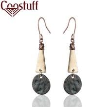 Vintage Women Earrings Black Silver Trend Fashion Jewelry Wholesale Dangle pendientes brincos Handmade Original earrings