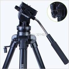 Professional Tripod Yunteng VCT-880 Aluminium Tripod for Canon & Nikon Micro Film SLR Camera Photography Tripod