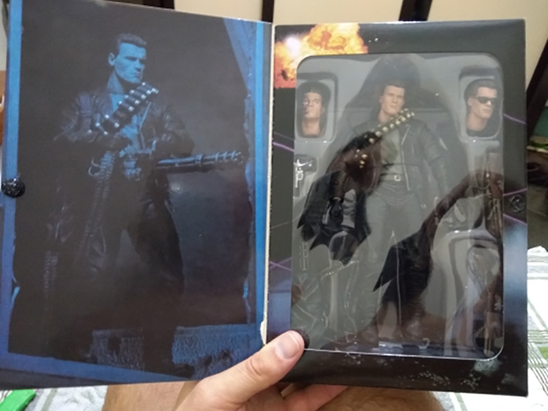 Image 4 - NECA Terminator 2 Judgment Day T 800 Arnold Schwarzenegger PVC Action Figure Model Toy Christmas GiftAction & Toy Figures   -