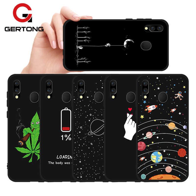 TPU Patterned Trường Hợp Đối Với Samsung Galaxy S10 Cộng Với S10e A10 A20 A30 A40 A50 A70 M20 M30 M10 Hoa Động Vật điện thoại Trường Hợp Che