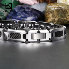 Kalen Carbon Fiber & Tungsten Steel Bracelets
