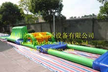 High quality fun new arrival Outdoor Water Entertainment inflatable obstacle water sports commercial grade for sale