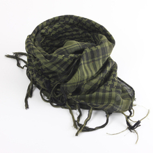 Colorful Unisex Lightweight 100x100cm Tactical Outdoor Arab Desert Shemagh Scarf With Tassel For Men Women