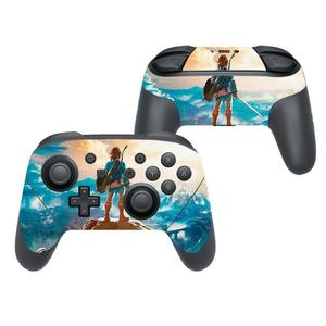 Image 5 - The Legend of Zelda Cover Decal Skin Sticker for Nintendo Switch Pro Controller Gamepad Joypad Nintend Switch Pro Skin Stickers