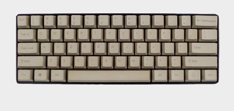 GH60 PBT Keycaps OEM Keys for Mechanical Gaming Keyboard