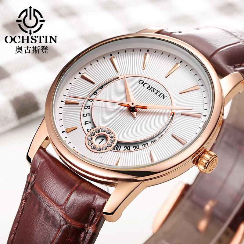 Ladies Fashion Quartz Watch Women Rhinestone Leather Casual Dress Women s Watch Crystal Clock reloje mujer