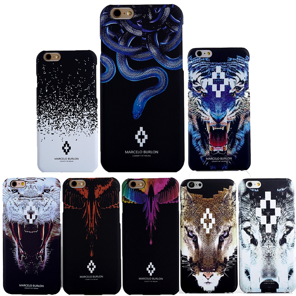 new style 738cb 7a1b1 US $4.72 |Marcelo Cases for Funda iPhone 7 Bull Rules Monkey Snake Tiger  Lion Owl Marcelo Burlon Case For Coque Iphone 6s 6 7 Plus 5 5s SE-in Fitted  ...