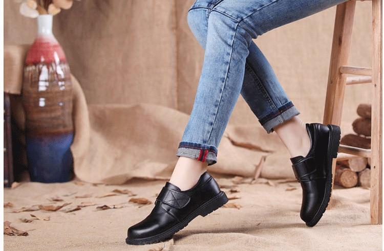 Mode jongens kinderen koe lederen schoenen student school schoenen - Kinderschoenen - Foto 6