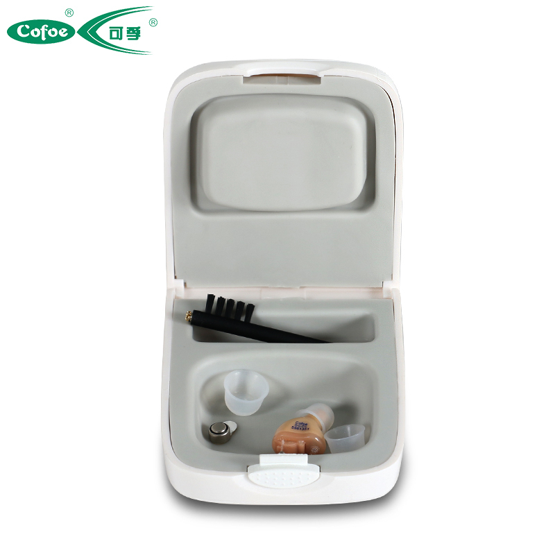 Elderly Wireless CE FDA Aid Invisible CIC Mini Hearing Aids Headset Inside left/right Ear discreet hearing aids s 100a ear mini hearing aid invisible enhance headset useful things