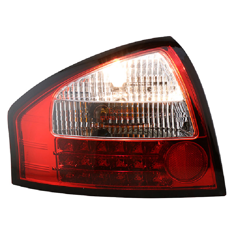 SONAR brand for Audi A6 LED Tail Lights Assembly 2001 to 2004 year Red Housing ensure High quality & fitment & durability