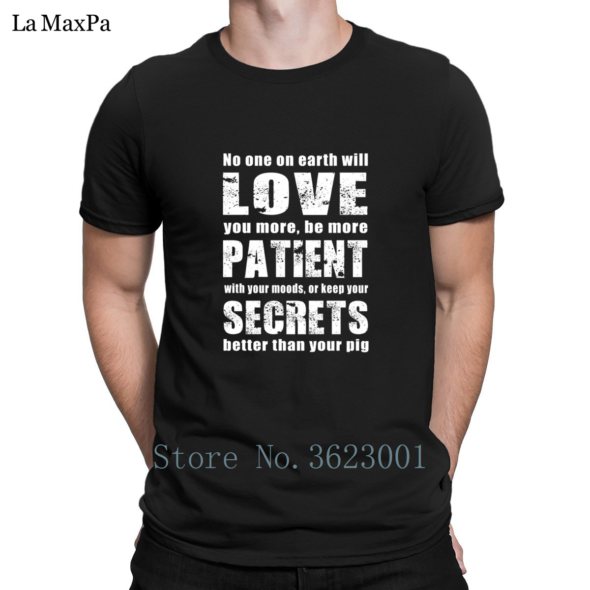 Fitted Tshirt Mens No One On Earth Will Keep Your Secrets Bet T Shirt Male Men T-Shirt Normal Tee Shirt For Men O Neck Cheap