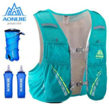 AONIJIE Marathon Hydration Backpack 5LOutdoor Running Bag Hiking Vest Water Bladder Race