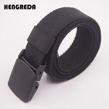 Холщовый ремень для мужчин женщин поясной ремень Мода пластик Пряжка повседневное Ковбой Черный мужской ремень cinturones para mujer для Жан