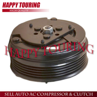 TRSA09 AC A/C compressor clutch assembly for Honda Jazz/Fit 38800 REA Z013 71 5601612 Pulley Hub coil