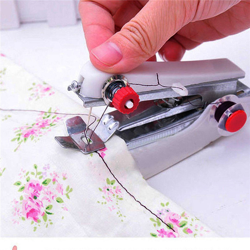 1 PC New Mini Multifunction Home & Travel Portable Cordless Hand-held Sewing Machine  P50