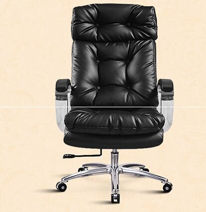 The boss has a real leather chair. Can lie in computer chair. Household large class chair. Latex sofa chair..037