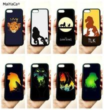 Lion king simba soft silicone edge mobile phone cases for apple iPhone x 5s SE 6 6s plus 7 7plus 8 8plus XR XS MAX case стоимость