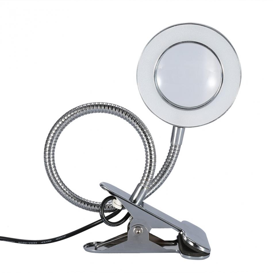 2 5x Magnifier Usb Tattoo Led Light Magnifying Lamp With