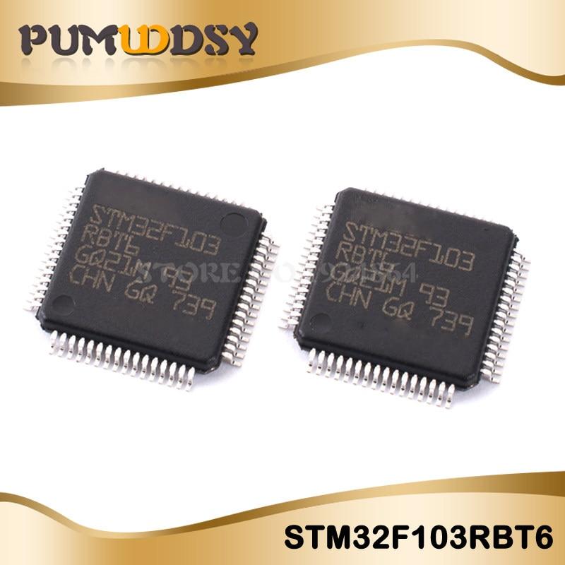 5PCS QFP100 STM32F103VET6 STM32F103 QFP ARM new and original IC