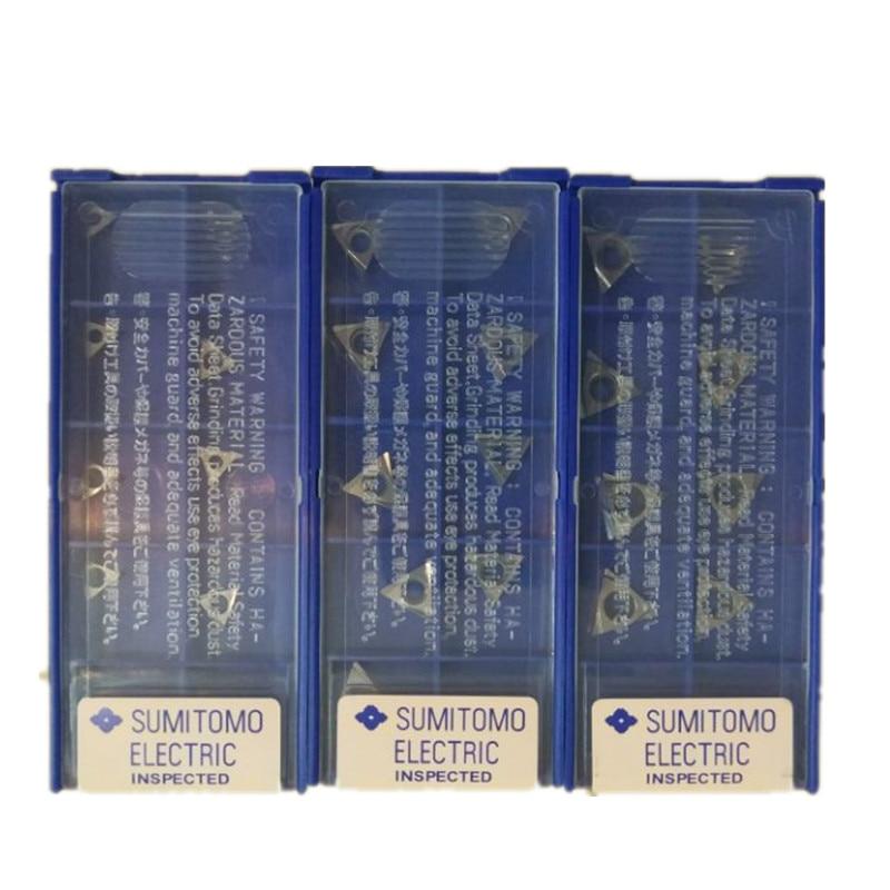 10 pz CNC inserto in metallo duro TBGT060102L/TPGT090202L/TPGT110302L/TPGT110304L/TPGT090204L/TBGL060104L-W T1200A Noioso strumenti taglierina