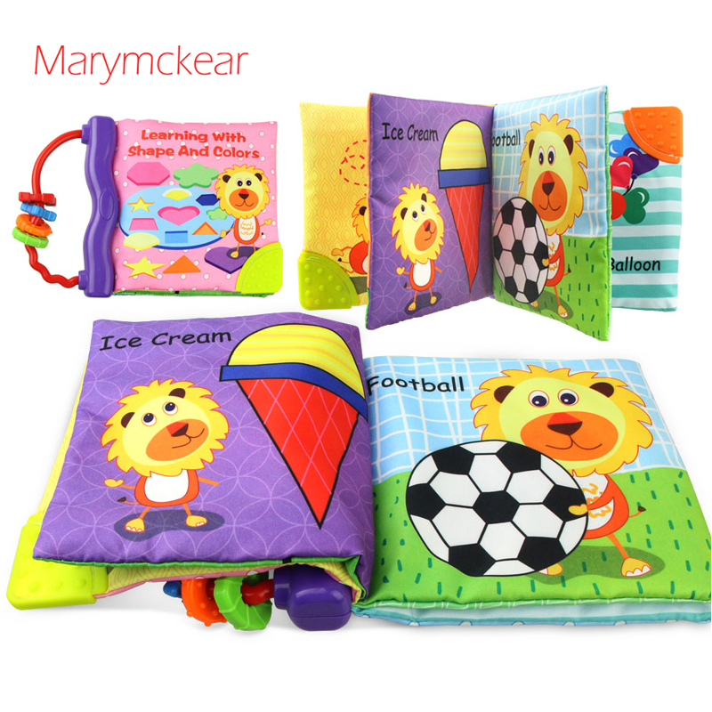 New Style Soft Book Toddler Toys Educational Infant Book Kitap Kids Book Cloth Book Baby Readings Easy To Ca