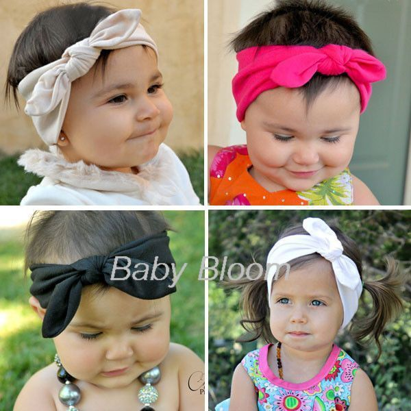 Baby Head Wraps Top Knot Head Scarf  e8269540789