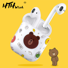 Get more info on the case for airpods apple cartoon Earphone Headset Accessories plastic case For Airpods Protective Wireless Bluetooth Headset Box
