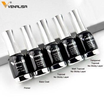 Venalisa Tempered Top Coat Nail Paint Gel 111 colors Platinum Gel Polish Nail Gel Soak Off UV Gel Polish Nail Lacquer Varnishes 1