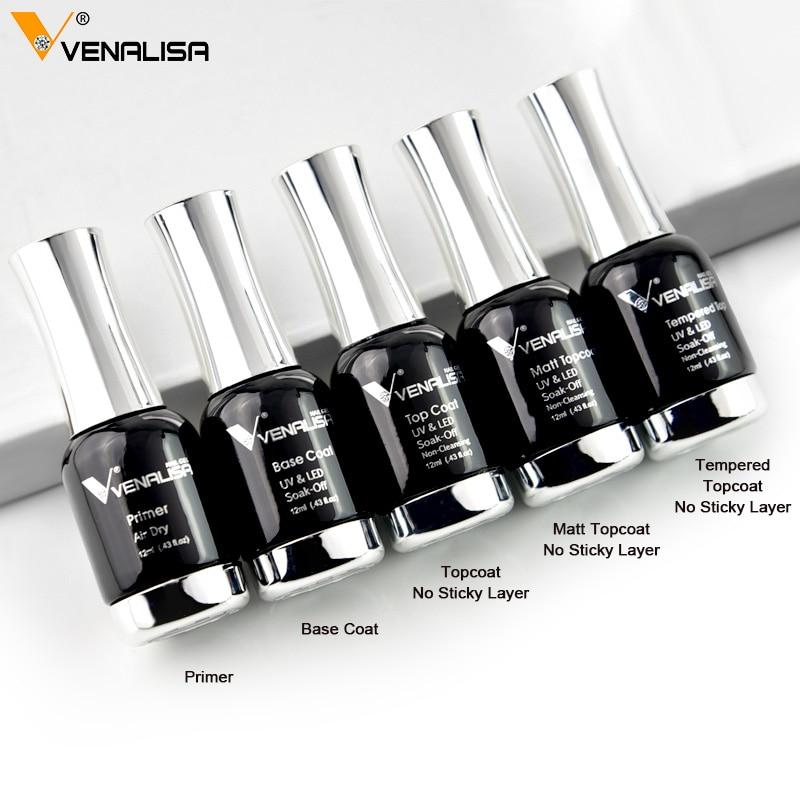 Nail Art 2020 New Venalisa Nail Paint Gel 120 Colors Platinum Gel Polish Nail Gel Soak Off UV Gel Polish Nail Lacquer Varnishes
