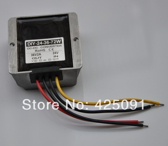 Converter 24V(20-30V) Step up to 36V 2A 72W  DC Module power adaptor Regulator RoSH CE woodwork a step by step photographic guide to successful woodworking