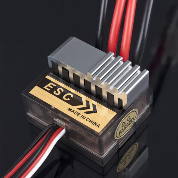 320A brushed ESC Electrical speed controller for RC Crawler Monster truck/Boat model compatible with 540/550 brushed motor mach hsp 320a brushed brush motor speed controller esc f 1 10 1 12 rc truck car boat