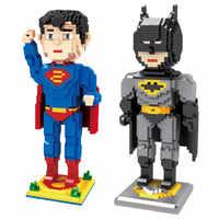 DC Hero bricolage Mini construction Micro blocs de diamant brique jouet capitaine amérique Superman 1780 pièces Jouets Juguetes ггггг© к