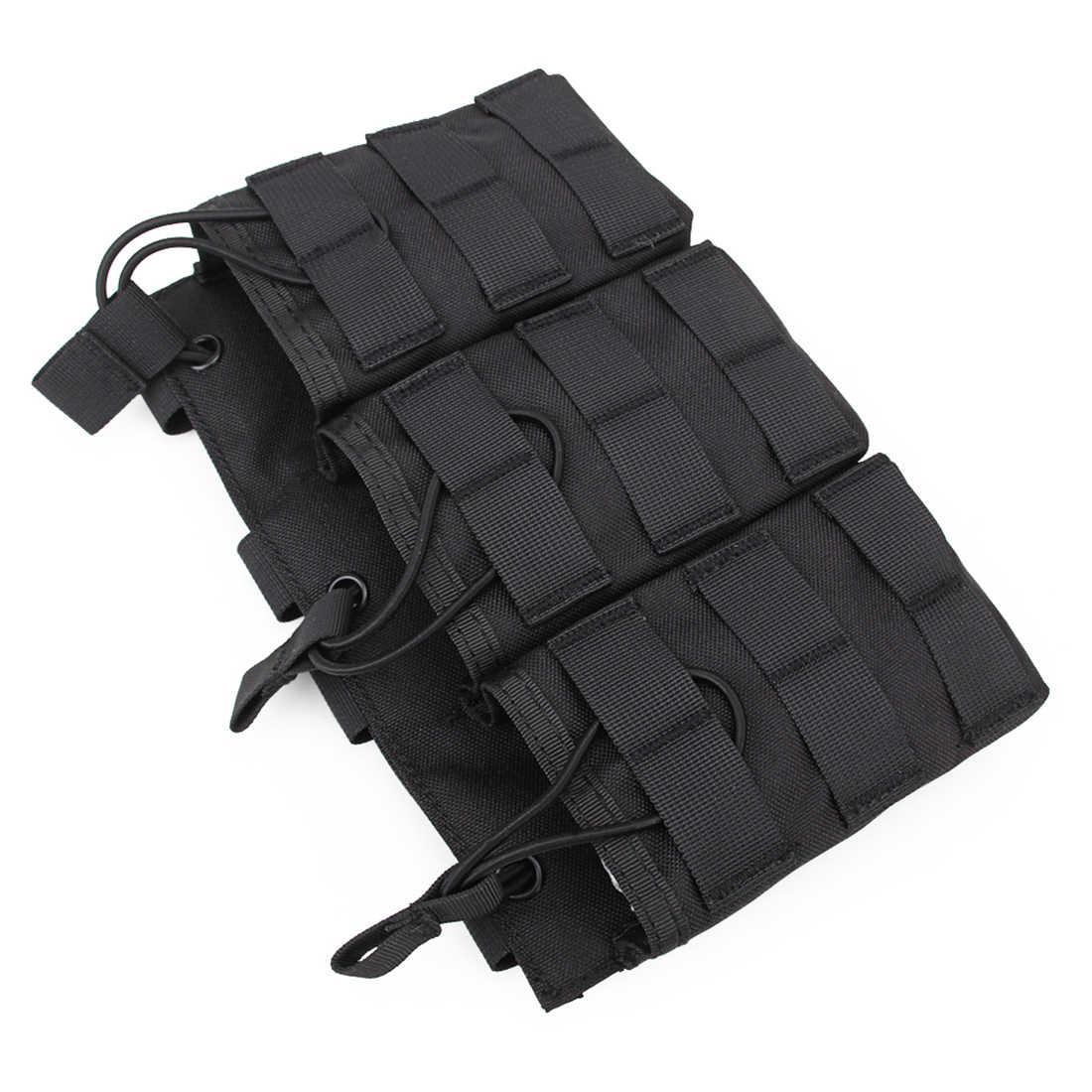 Surwish тактическая Тройная журнальная сумка для G36 Mag наружная для игры в пейнтбол Группа Мероприятий-черный