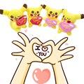 2 шт./компл. 10 см Пикачу Плюшевые Игрушки Подарок Симпатичные Мягкие Игрушки Из Мультфильма Pocket Monster Аниме Kawaii Детские Детские Игрушки Пикачу Фаршированные Плюшевые кукла