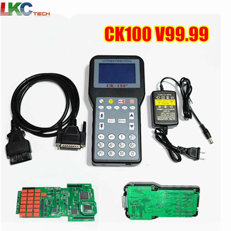 A Quaility Auto Key Programmer CK100 No Tokens Limited CK 100 Car Key Maker V99 99