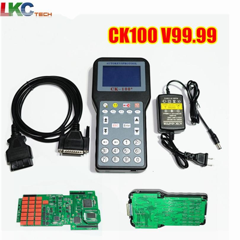 Цена за + + Качество Auto Key Программист CK100 Нет Жетоны ограниченной CK-100 Ключи Maker V99.99 последнего поколения SBB CK 100