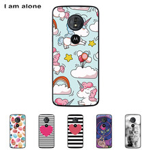 7a84c1adfa7 For Motorola Moto G6 Play 5.7 inch Solf TPU Silicone Color Paint DIY Case  Mobile Phone Cover Bag Cellphone Housing Shell Skin