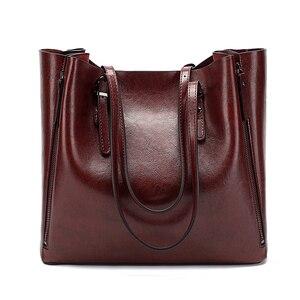 Image 2 - DIDA AYı Yeni Moda Lüks Çanta Kadın Büyük Tote Çanta Kadın Kova omuz çantaları Bayan Deri askılı çanta alışveriş çantası