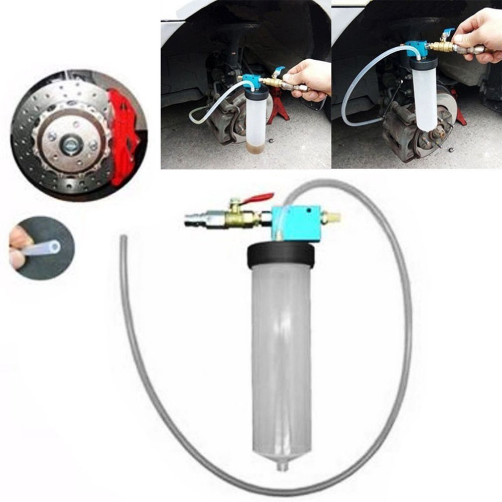 Universal Car Brake Fluid Replacement Tool Pump Oil Change Tool Automotive Oil Bleeder Empty Exchange Drained Kit Device Hot