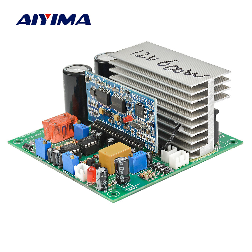 Aiyima Pure Sine Wave Power Frequency Inverter Board 12V 24V 36V 48V 60V 600/1000/1500/1800/2000W Finished Board For DIY