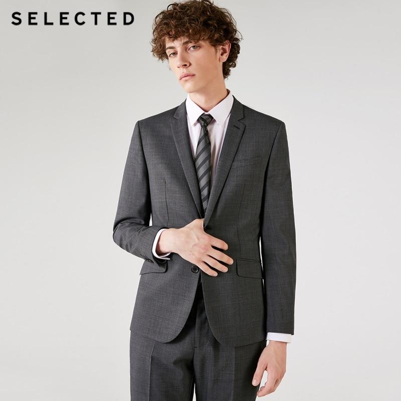 Men s Genuine Leather Down Jacket Winter Warm Short Coat Black Outerwear Sheepskin 2018 New Designer