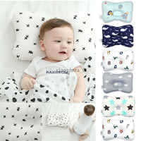 Baby Pillow Newborn Head Protection Cushion Cute Soft Toddler Infant Sleep Positione Anti Roll Infant Nursing Pillow
