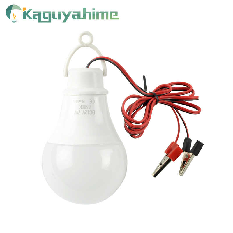 Kaguyhime DC 12V LED Camping Fishing Emergency Portable Ring Hang Light Lamp Clip LED Bulb 3W 7W 9W 12W 15W For Outdoor Lampada