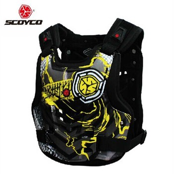 2017 Fashion  SCOYCO motorcycle armor AM06 motorbike armors Chest Back support Riding protective device made of PP size M L XL