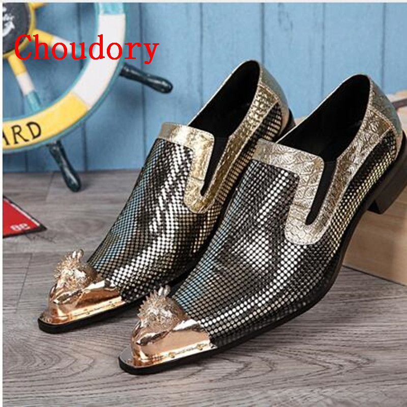 2017 Men Shoes Luxury Brand Loafers Gold Patent Leather Prom Shoes Crocodile Skin Shoes Formal Mens Pointed Toe Dress Shoes cbjsho brand men shoes 2017 new genuine leather moccasins comfortable men loafers luxury men s flats men casual shoes