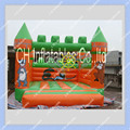 Hot 3m by 3m Mini Inflatable Bouncer with hand Painting,Commercial Inflatable Castle