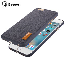 Baseus Fresh Artistic Phone Case For iPhone 6 6s 6 Plus 6s Plus Full Protective Back Cover Cases For I6 6P Coque Accessories