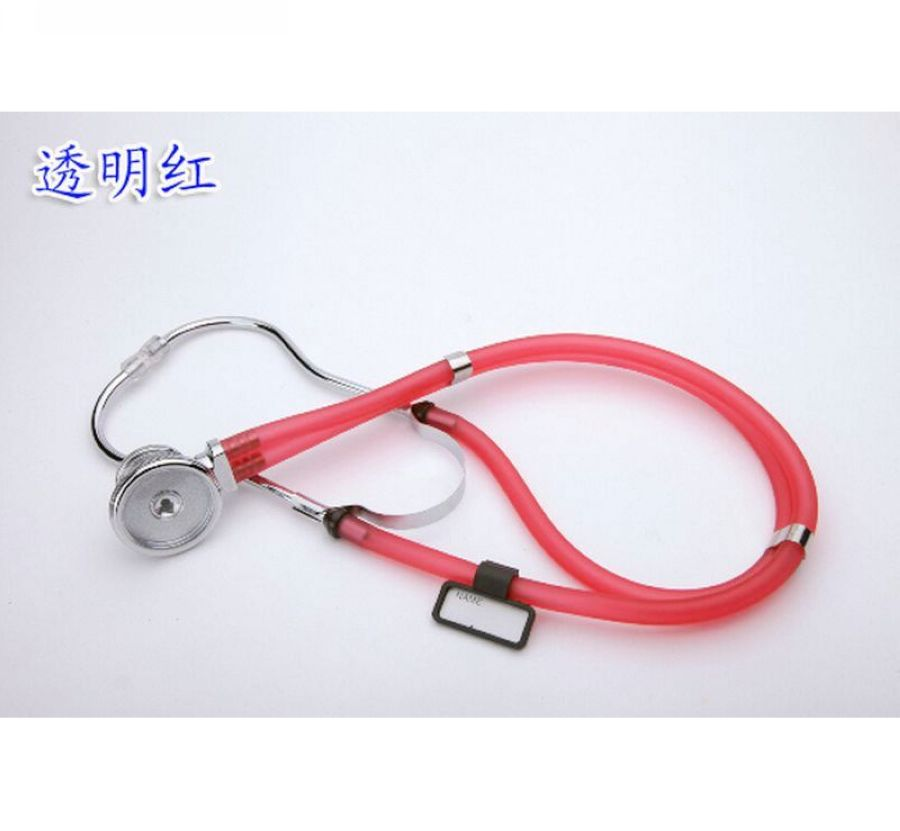 5PCS/LOT New Echometer Luxury Stainless Steel Echoscope Dual Head Auscultator Medical Doctor Stethoscope for Auscultation