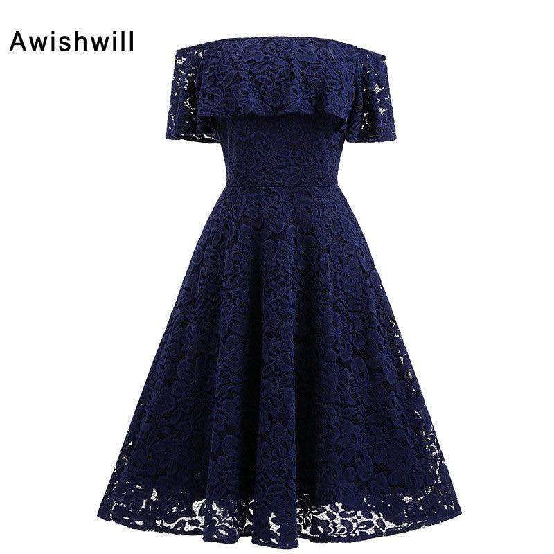 2019 Uus mood õlal, varrukateta riietega kokteil Courte elegantne lühike kodune kleit pidulikele kleitidele