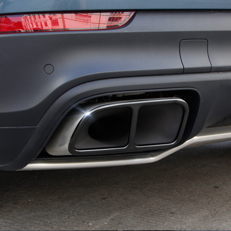 Lsrtw2017 Stainless Steel Car Tail Exhaust Pipe Trims For